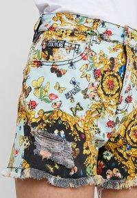 Versace Jeans Couture - Denim shorts - menta - 5