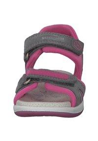 Superfit - Walking sandals - hellgrau rosa - 5