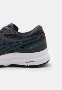 ASICS - GEL CONTEND 7 - Neutral running shoes - graphite grey/digital aqua - 5