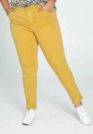 Trousers - ocher