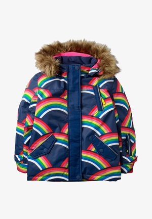 Outdoor jacket - schuluniform-navy, regenbogen