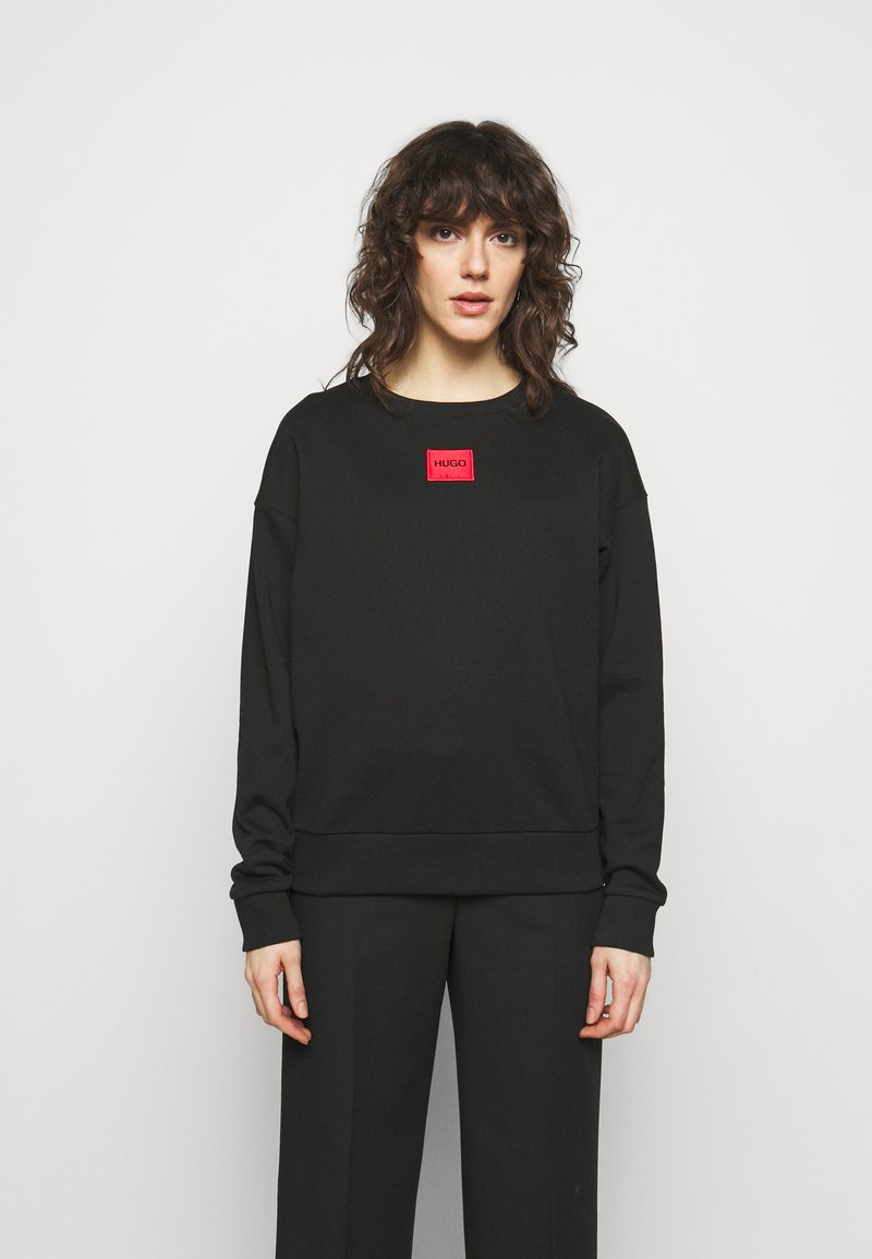 HUGO - NAKIRA - Sweatshirt - black