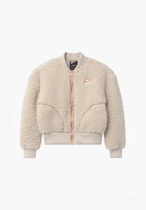 SHERPA SHINE - Fleece jacket - orewood/praline