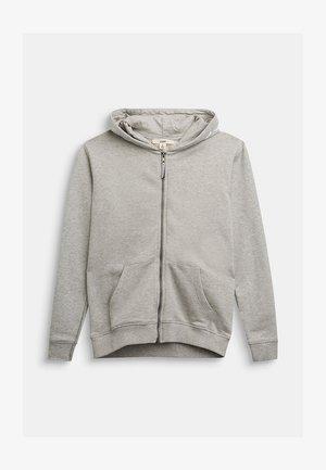 Zip-up hoodie - medium grey