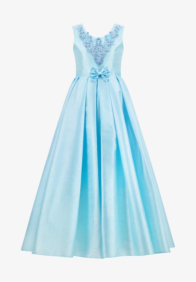 Prestije - MIT BESTICKUNG TRAUMHAFTES PRINZE - Maxi dress - türkis