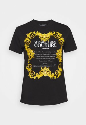 LADY - T-shirt con stampa - black