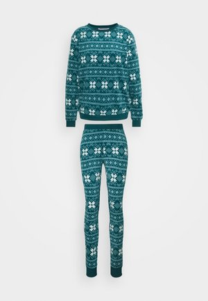 FAIRISLE SET - Pyjama set - atlantic deep