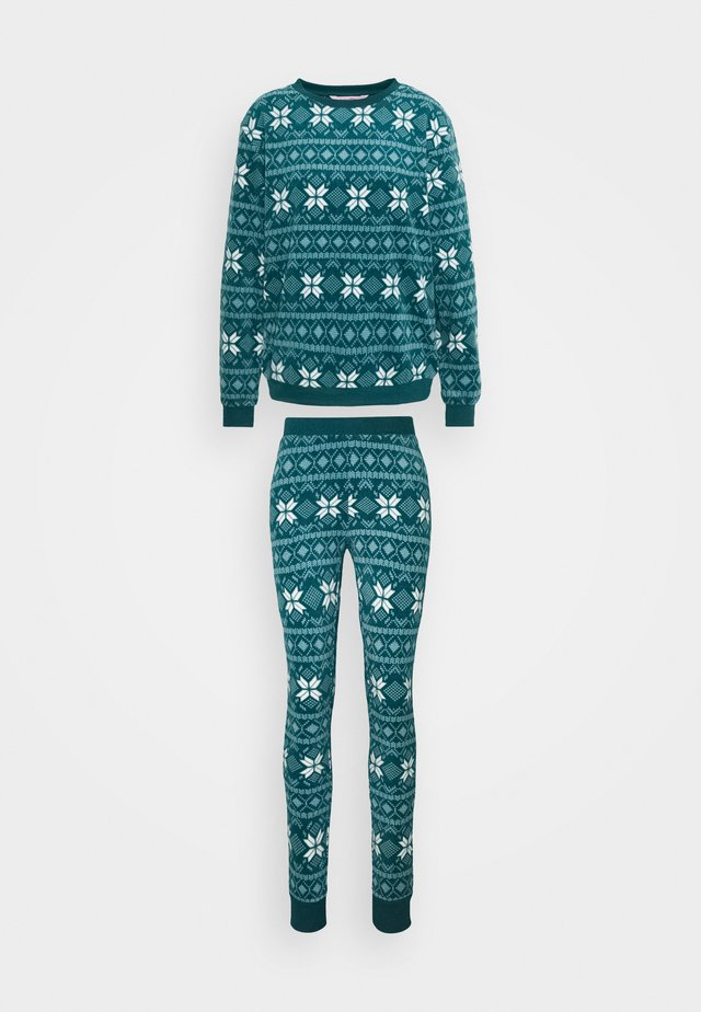 FAIRISLE SET - Pigiama - atlantic deep