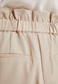 YAS Tall - YASWELLO WIDE PANT VIP - Trousers - oxford tan - 5
