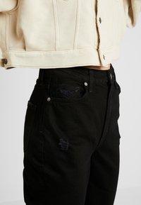 Free People - MY OWN LANE - Jeans straight leg - black - 3