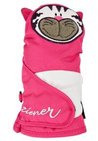 Ziener - LAFAUNA AS® MINIS - Mittens - pop pink - 1