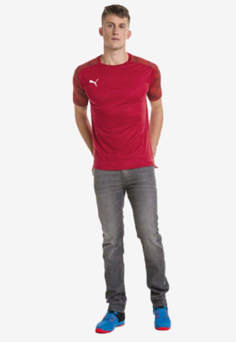 Puma - CUP  - Print T-shirt -  red