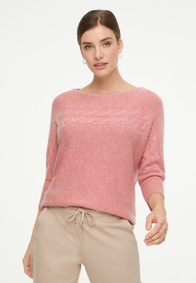 Jumper - rose melange