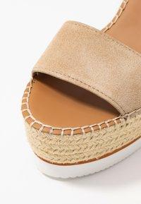 See by Chloé - Sandály na vysokém podpatku - beige - 2