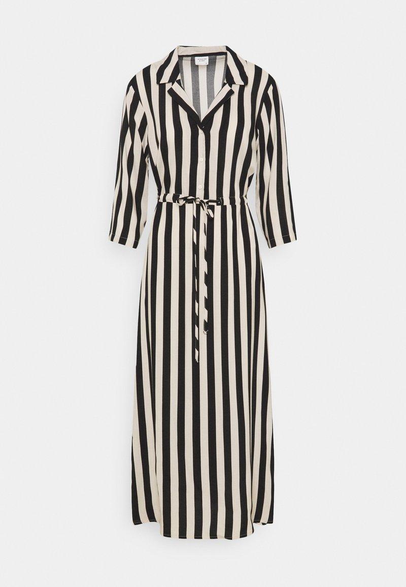 JDY - JDYSTAAR LIFE MID CALF DRESS - Shirt dress - tapioca/black