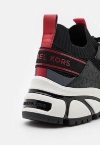 Michael Kors - LUCAS - Trainers - black/multicolor - 5