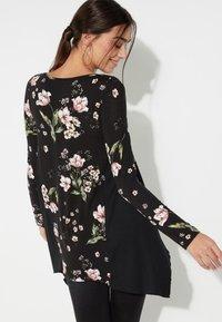 Tezenis - Long sleeved top - nero st.floral bouquet - 1