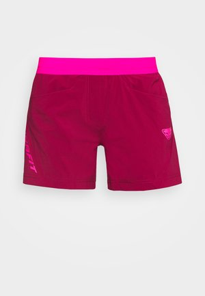 TRANSALPER HYBRID SHORTS - Sports shorts - beet red