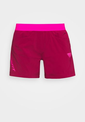 TRANSALPER HYBRID SHORTS - Pantaloncini sportivi - beet red