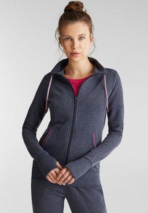 veste en sweat zippée - navy