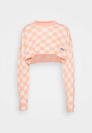 WIPEOUT - Svetr - pink/beige
