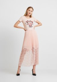 Guess - LINDA SKIRT - Pleated skirt - pale sand - 2