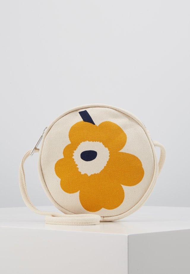RILLA UNIKKO BAG - Schoudertas - off white/yellow/dark blue