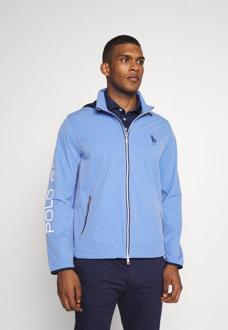 Polo Ralph Lauren Golf - HOOD ANORAK JACKET - Sportovní bunda - blue mist