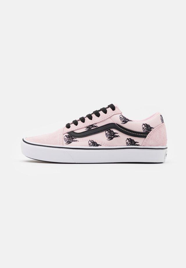 Vans x MoMA COMFYCUSH OLD SKOOL UNISEX - Sneakers basse - blushing bride/black
