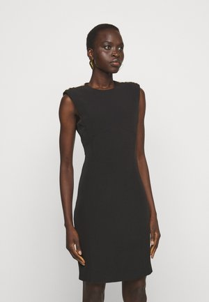 INSICURO ABITO TECNICO - Shift dress - black