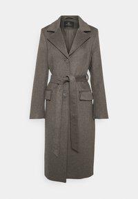 Bruuns Bazaar - CATARINA NOVELLE COAT - Klasický kabát - major brown - 4