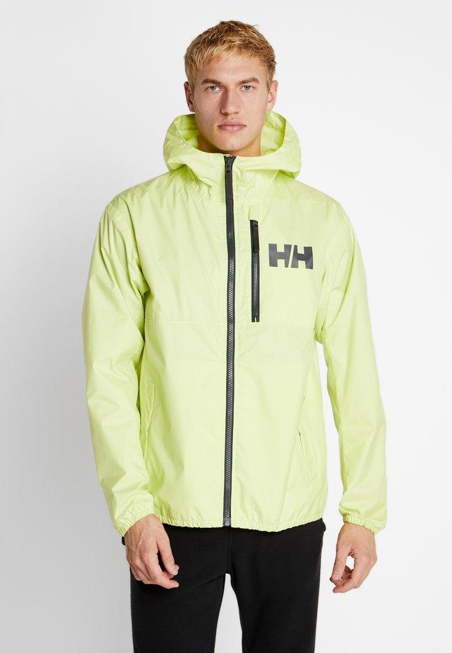 BELFAST PACKABLE JACKET - Waterproof jacket - sunny lime