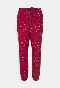Hunkemöller - PANT CUFF - Pyjama bottoms - rumba red - 3