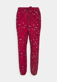 PANT CUFF - Pyžamový spodní díl - rumba red
