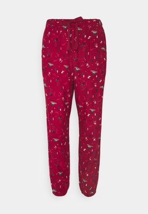 PANT CUFF - Pyjama bottoms - rumba red