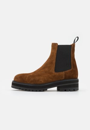 BOOTS CASUAL - Platform ankle boots - cinnamon