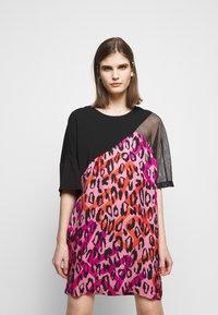 Just Cavalli - Denní šaty - fuxia variant - 0