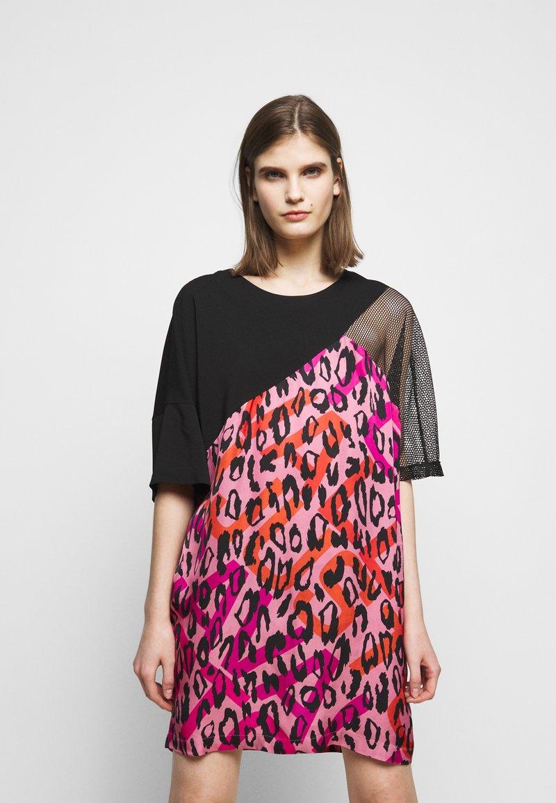 Just Cavalli - Denní šaty - fuxia variant