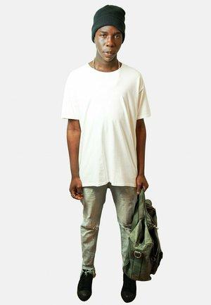 GYNECOBACK  - T-shirt med print - white