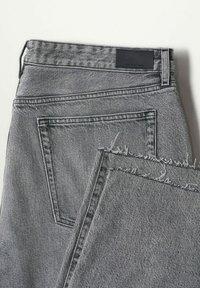 Mango - Straight leg jeans - grijs denim - 6
