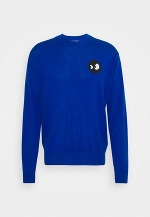 MONSTER BADGE CLASSIC CREW - Strickpullover - royal blue