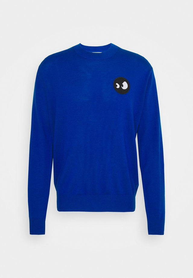 MONSTER BADGE CLASSIC CREW - Trui - royal blue
