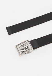 Diesel - B-METALTAPE - Belt - black - 1