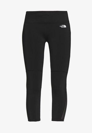 WOMENS VARUNA CROP - Leggings - black
