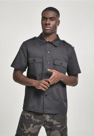 HERREN US HEMD 1/2 - Shirt - black