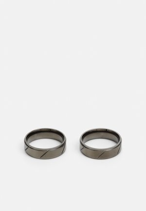 ETCHED 2 PACK - Bague - silver-coloured