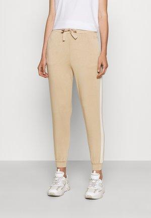 DOMINO - Teplákové kalhoty - honey