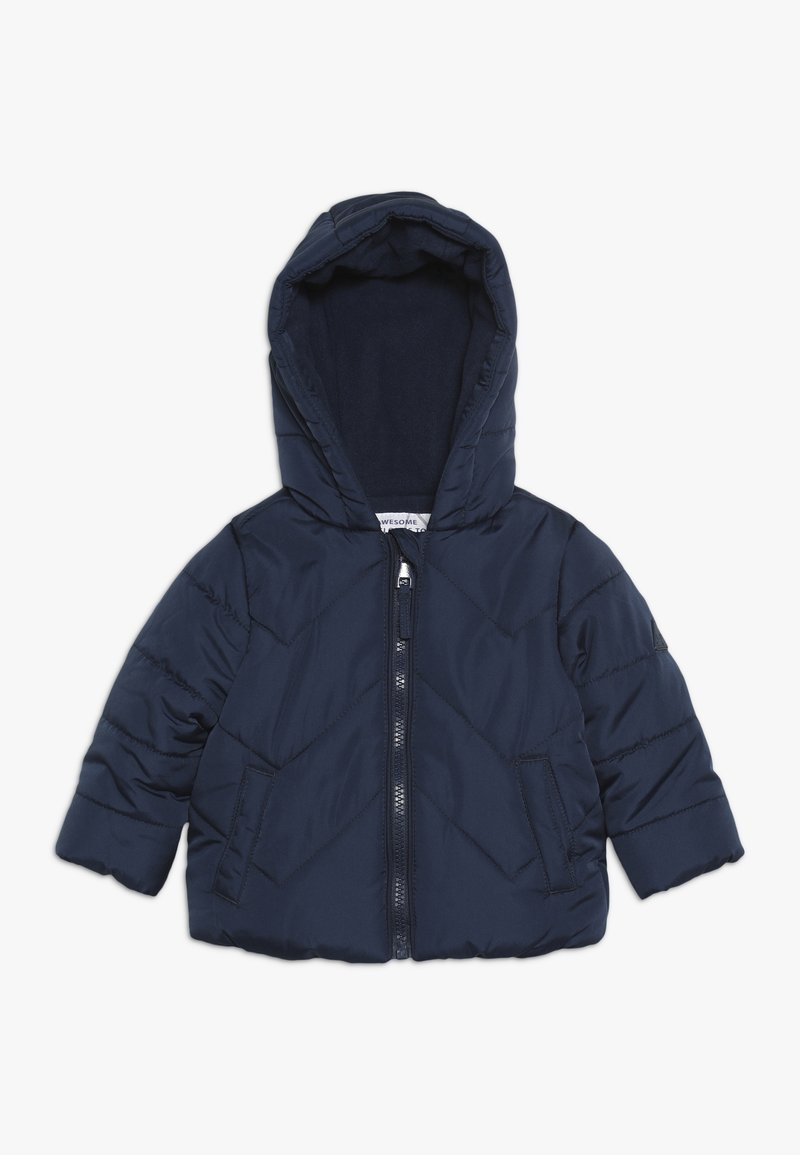 mothercare - BABY JACKET  - Winter jacket - navy