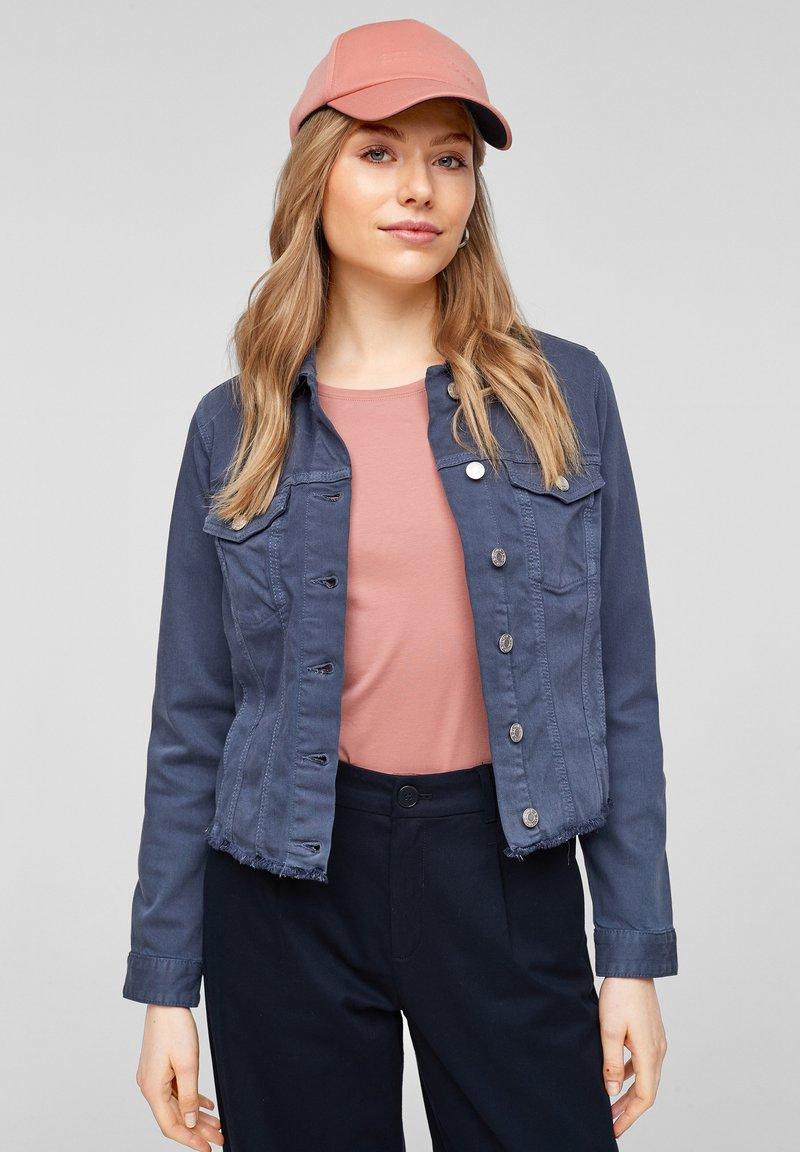 s.Oliver - Denim jacket - faded blue