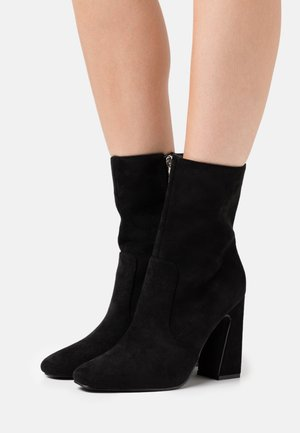 NARESSA - High heeled ankle boots - black